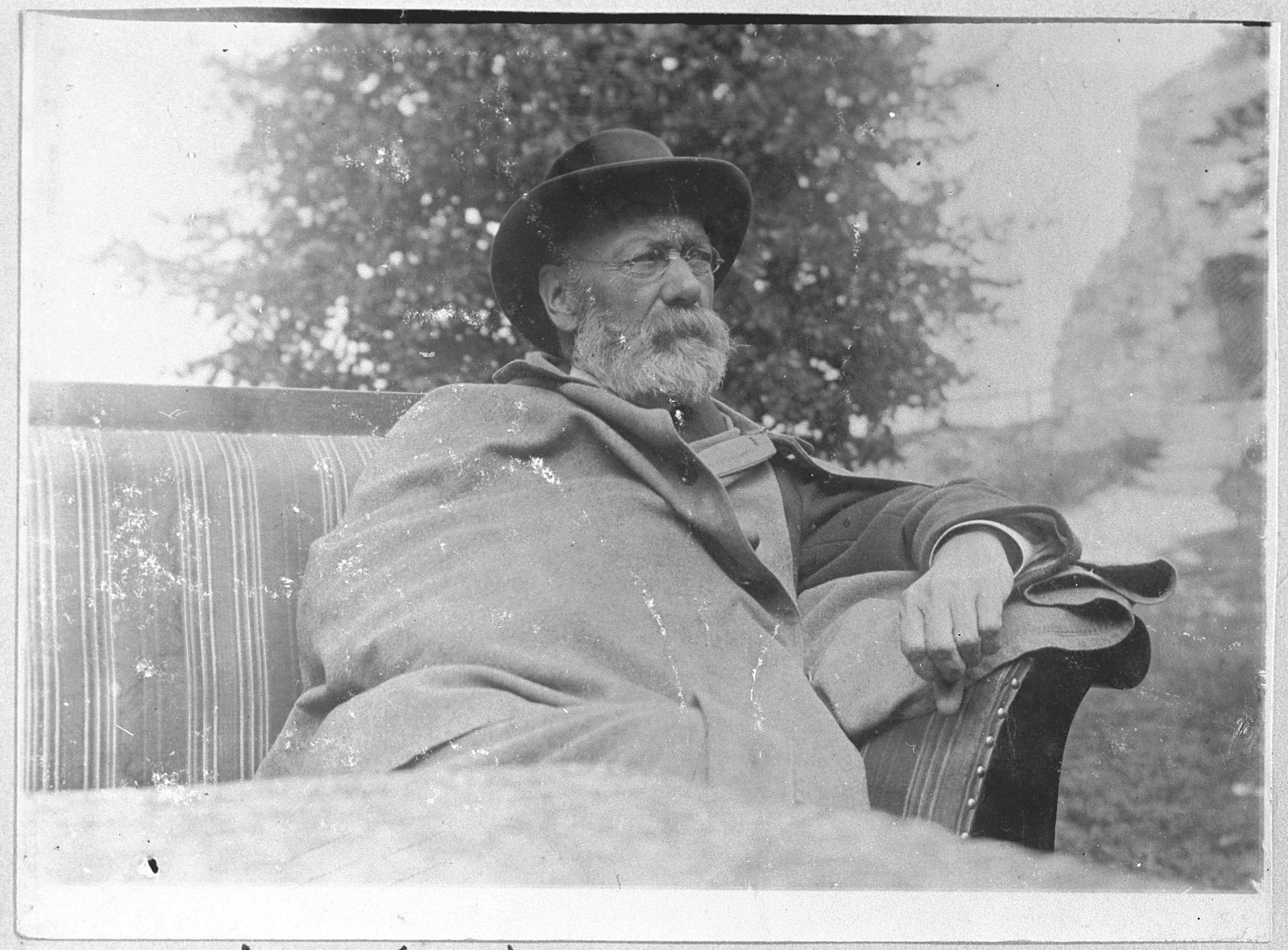 Eduard Paulus auf dem Hohenneuffen