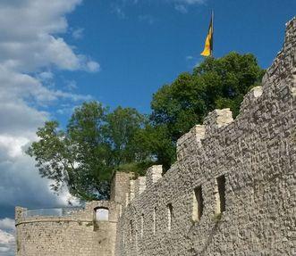 Festungsruine Hohenneuffen, Landesflagge