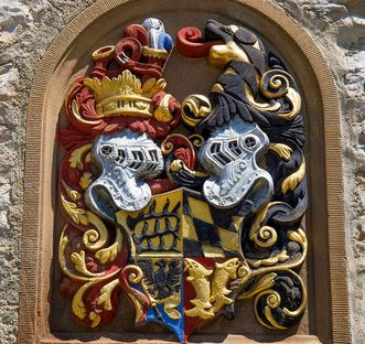 The Württemberg coat of arms
