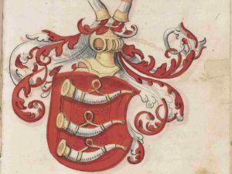 Wappen der Herren von Neyffen, Grafen zu Marstetten, 1530 aus Nikolaus Thoman: Chronik von Weissenhorn