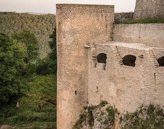Festungsruine Hohenneuffen, Gewölbe der östlichen Kasematten