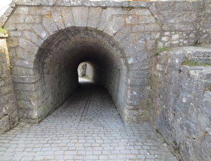 Festungsruine Hohenneuffen, Kasematten; Foto: Staatsanzeiger für Baden-Württemberg, Petra Schaffrodt