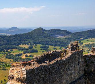 Festungsruine Hohenneuffen, Blick nach Westen