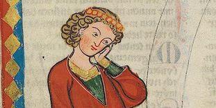 Gottfried von Neifen im Codex Manesse