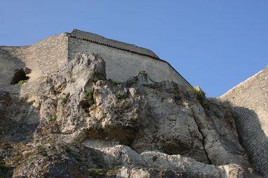 Festungsruine Hohenneuffen, Felsen; Foto: Staatliche Schlösser und Gärten Baden-Württemberg, Thomas Blank