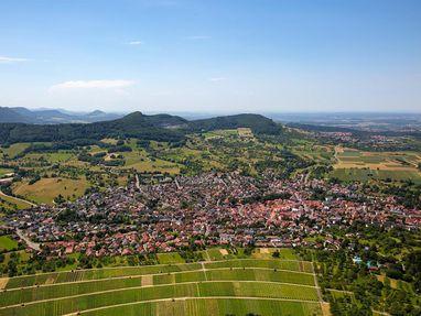 Festungsruine Hohenneuffen, Ausblick von der Ruine